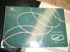 1997 OLDSMOBILE BRAVADA FACTORY OWNERS MANUAL OPERATORS BOOK