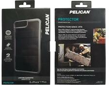 New Original PELICAN Protector Black/Light Grey iPhone 7+ Plus 6S+ Plus 6+ Plus