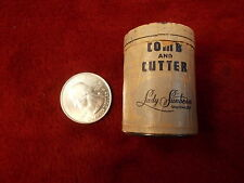 """NOS OLD VTG NEAR MINT CONDITION LADY SUNBEAM """"COMB & CUTTER"""" IN CYLINDER, UNUSED"""