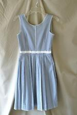 Dolce & Gabbana Blue Check Sleeveless Dress Sz 38 - US Size XS