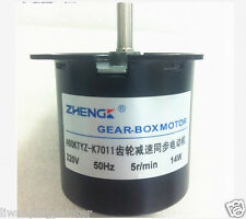 New 60KTYZ 220v 5rpm 50/60HZ Permanent Magnetic reversible Synchronous motor