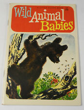 "A 1958 COPY OF ""WILD ANIMAL BABIES"" A LITTLE SILVER BOOK"
