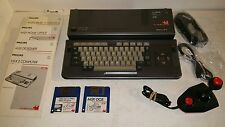 Philips VG-8235 MSX 2 Computer with books (dutch),  joystick,all cables,software