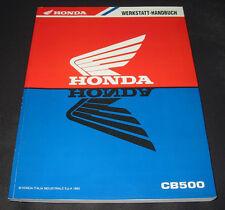 Werkstatthandbuch Honda CB 500 / CB500 Reparaturanleitung Stand 1993!