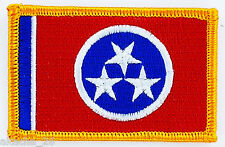 Ecusson Brodé PATCH drapeau Tennessee USA AMERICAIN ETATS UNIS FLAG EMBROIDERED