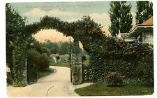 Portchester NY - GATE AND LODGE TO MR CLASSON'S MANSION - Postcard Port Chester