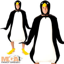 Penguin Adults Fancy Dress Animal Bird Mens Ladies Unisex Christmas Costume BN