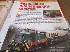 Deutsche Eisenbahngeschichte Erlebnis Rheinisches Industriebahn Musum K- Nippes
