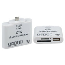 5 in 1 OTG Card Reader And USB Adapter For Samsung Galaxy Note 3 Note 2 Tab 3