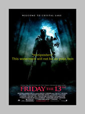 "FRIDAY THE 13TH PP SIGNED 12""X8"" POSTER REMAKE BAY"