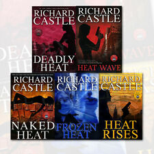 Richard Castle 5 Books Collection Set (Nikki Heat Series), (Deadly Heat, Frozen