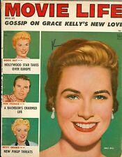 Grace Kelly Doris Day Betty Grable Bob Francis cover Movie Life magazine 1955