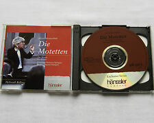 Helmuth RILLING / BACH The motets GERMANY 2CD HANSSLER 98.965 (1990)