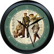 Personalized Vintage Golf Wall Clock  Pro Shop Golf Store Gift