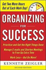 Organizing for Success, Second Edition, Zeigler, Kenneth, Good Book