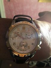 "Wenger Swiss Military 41MM"" Rose Gold Knight""  GST Chronograph  #79131"