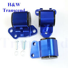 Motor Mounts Swap For Honda Civic EG D Series B Series Engine 2 BOLTS Blue