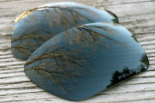 Dark Slate Grey Polarized  Replacement Sunglass Lenses for Oakley Big Taco