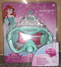 NEW DISNEY PRINCESS KIDS SWIMMING MASK GOGGLES ARIEL THE MERMAID 6+