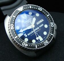 Vintage Seiko divers 6309-7040 TURTLE SCUBAPRO 450 SAPPHIRE CRYSTAL JUNE 1981 J4