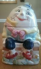 Humpty Dumpty Cookie Jar Bico China