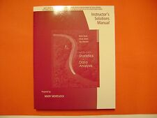 Instructor Solutions Manual Introduction to Statistics & Data Analysis 3E Peck
