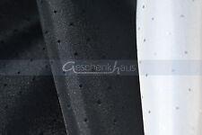 Hochwertiger Futterstoff Taft T 210 Meterware Bekleidung & Deko in Schwarz