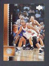 Tim Hardaway & B.J. Armstrong 1996-97 Upper Deck Wrong Back Error Heat Warriors