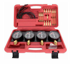 Pro Fuel Vacuum Carburetor Synchronizer carb sync Gauge Set Rubber Hose USA Ship