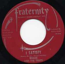 "MOUSE & THE TRAPS ""I SATISFY"" U.S. TEXAS PSYCH/GARAGE 1968"