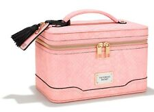 Victorias Secret Hard Train Case Makeup Bag Light Pink Python - LIMITED EDITION!