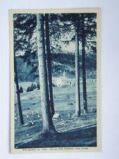 Folgaria Trento vecchia cartolina Chiesa della Madonna delle Grazie