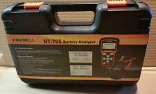 Foxwell Bt705 Car Battery Load Tester & Charging System Analyzer 12 & 24 Volt