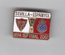Sevilla v Espanyol ( UEFA Cup Final 2007 ) - lapel badge No2