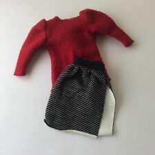 Barbie 1984 Twice as Nice #7950 - Top + Skirt with label - vintage dolls clothes
