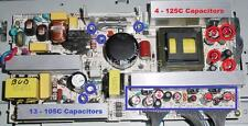LG 26LC2R LCD TV Repair Kit, 125ºC and 105ºC Capacitors Included in this kit.
