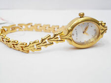 TIMEX Analog Gold Plated Chain Watch for Women & Girls TW000W500