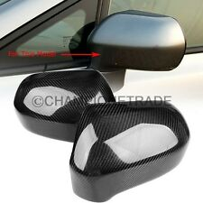 Real Carbon Fiber Side Door Rear View Mirror Cover For 2006-2011 Honda Civic CT