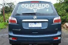 HOLDEN COLORADO 300mm LONGHORN DECAL *CHOICE OF COLOURS* Ute Truck RMW STICKER