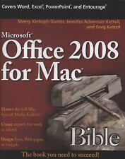 Microsoft Office 2008 for Mac Bible-ExLibrary