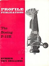 The BOEING P-12E - Profile Publications No 2