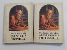 Pay Attention to Daniel's Prophecy Jehovah's Witnesses English & Spanish-2 books