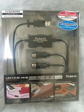 New Roland UM-ONEmk2 USB MIDI Interface cable Free tracking ship