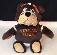 CLEVELAND BROWNS REVERSE A PAL PLUSH TOY - BROWNS FOOTBALL & MASCOT IN ONE