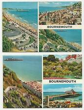 Two John Hinde Original Postcards, Bournemouth Multiview