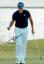 Julien QUESNE SIGNED Autograph Volvo China Open Golf 12x8 Photo AFTAL COA