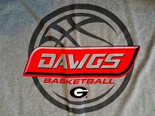 NEW - Georgia Bulldogs Basketball - Team Logo T-Shirt - Size XL