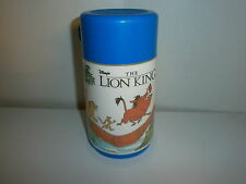 vtg 90's DISNEY LION KING MOVIE THERMOS Aladdin Simba Pumbaa Timon 1994