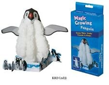 Kids Magic Growing Crystal Penguin Christmas Decoration Science Experiment Toy