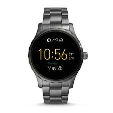 FOSSIL Watch FTW2108 Men's Q Marshal Touchscreen Smartwatch Bracelet Smoke